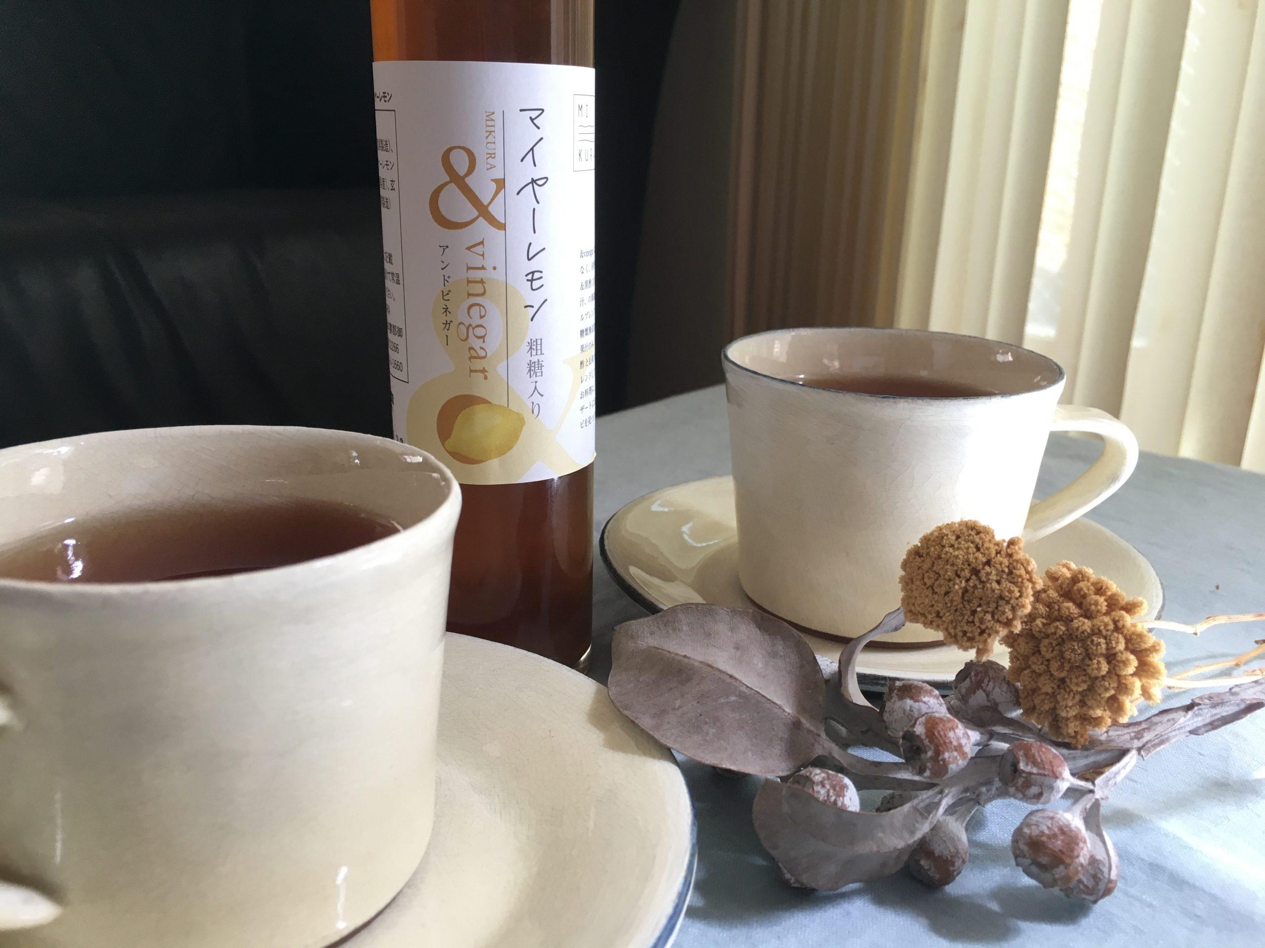 紅茶+&vinegar マイヤーレモン