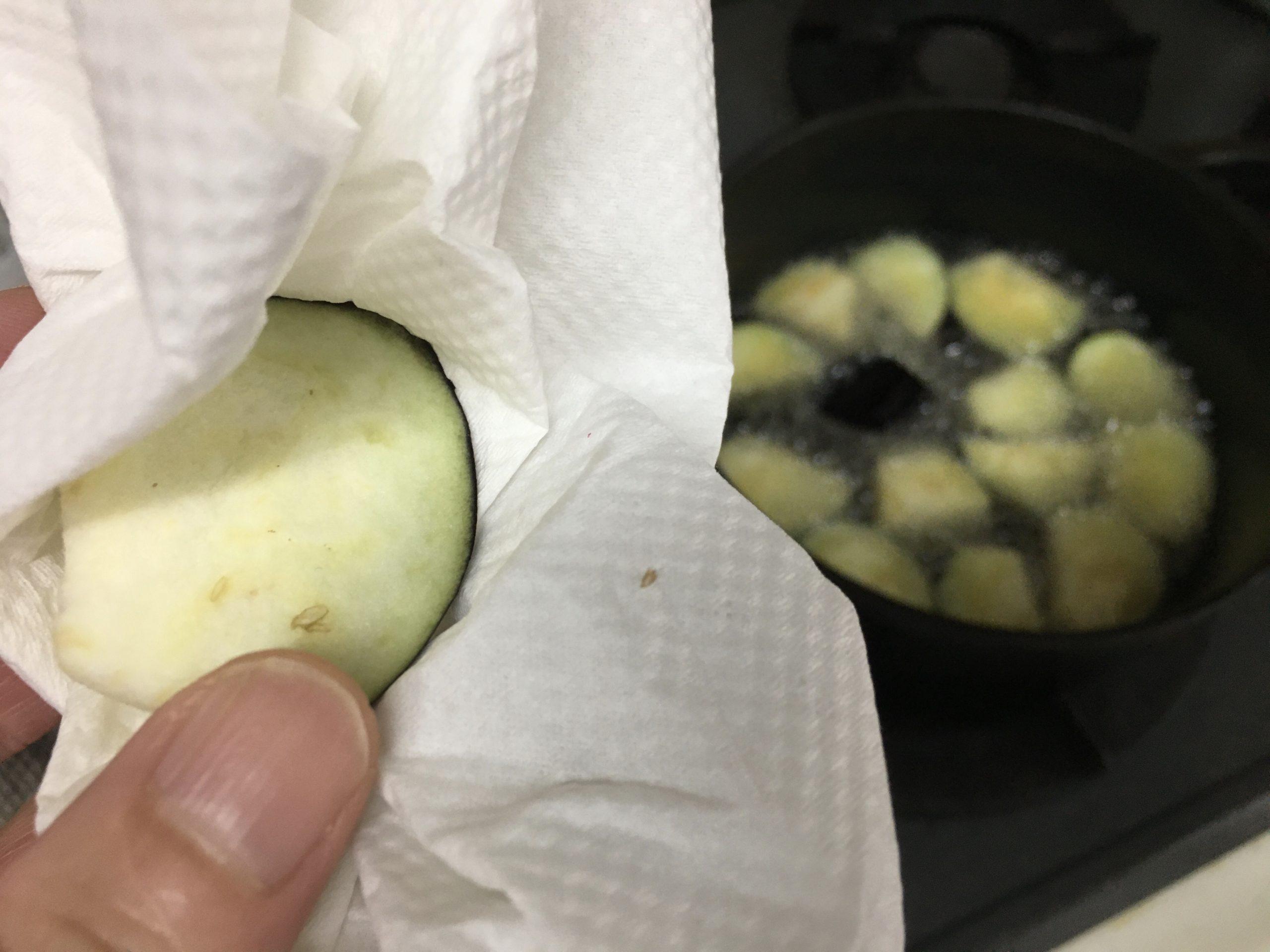 揚げ夏野菜のマリネ