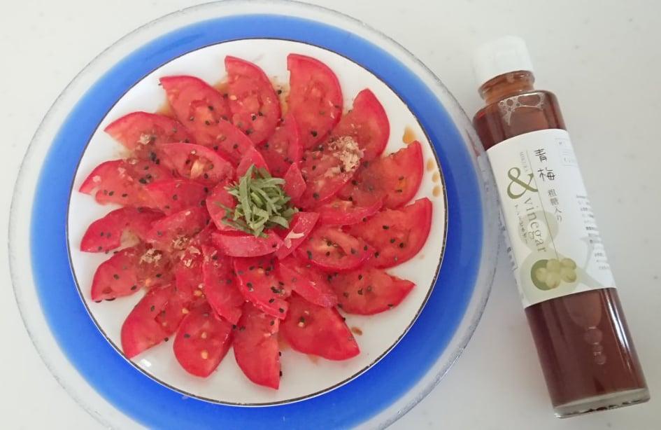 ひんやりシャーベットトマト